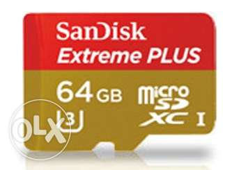 SanDisk microSD 64GB Mobile Extreme USD Card+Adapter