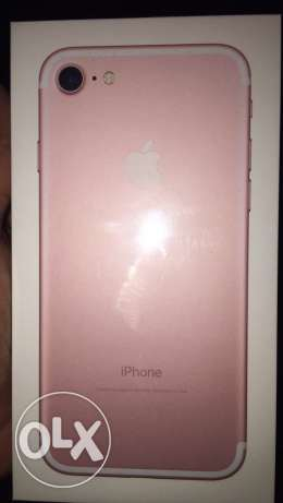 I phone 7 Rose Gold 256 GB