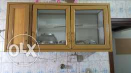 Kitchen washing area and cabinets for sale