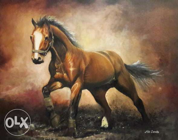 Horse Oil painting (SALE)