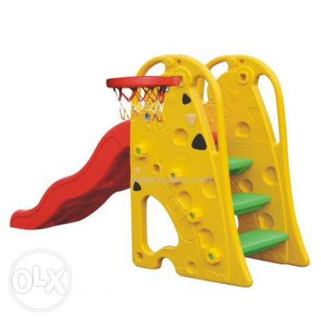 Assemble / Play / Playard / slide / basketball / toddler / plastic toy