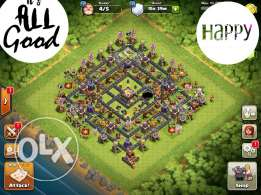 تاون ١١ كلاش اوف كلانس th 11 clash of clans.for iphone only