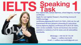 Buy Original Passports, ID card, Driver's License, Visa,IELTS & TOEFL