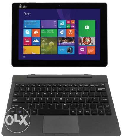 1) 2 in one Function tablet and laptop for sale
