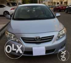Toyota Corolla 2009 XLI Automatic Car (Semi-option), 59,000 KM