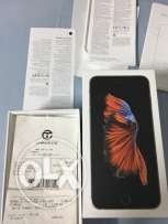 iphone 6s+ 64gb black edition in brand new condition sale or exchange