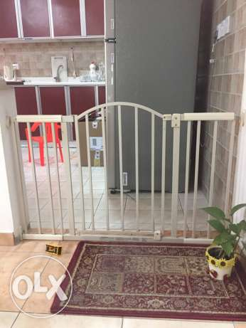 6 Foot Metal Expansion gate الرياض -  3