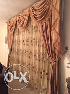 Fancy Curtains 3 Layers