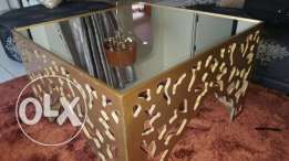 living-room table with mirror 50x80x80