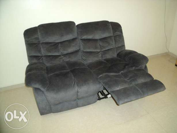 Gorgeous two-seater sofa with leg rests رأس تنورة -  1