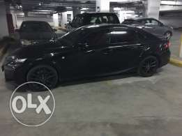 Black Lexus IS 350 F Sport 2016