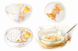 Microwave Glass Bowl & with Glass Lid