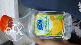 Juice bottle with water