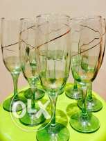 party event glasses for sale 8 pieces set