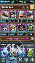 Clash Royale And clash of clans Account for sale