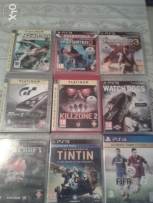 Ps3 and ps4 games