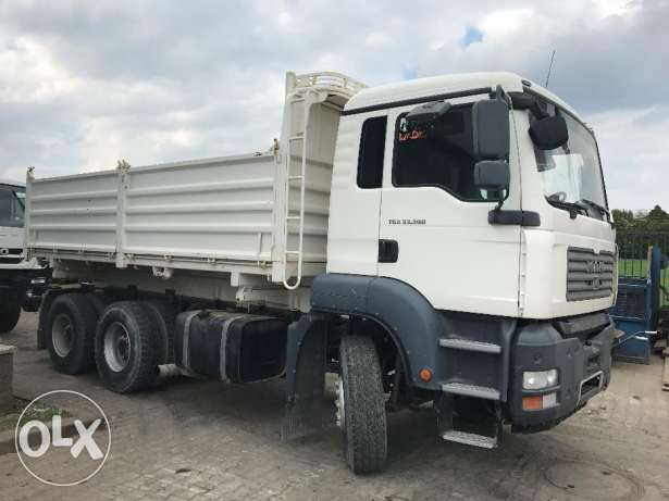 man 6x4 tipper