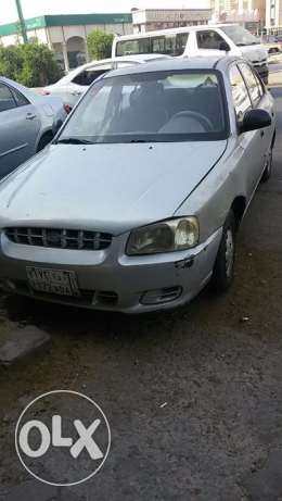 urgent sell hyundai accent with very cheap price جدة -  2