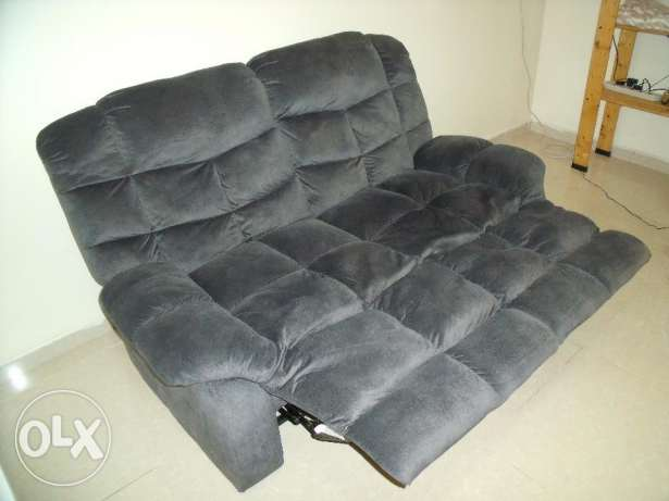 Gorgeous two-seater sofa with leg rests رأس تنورة -  2