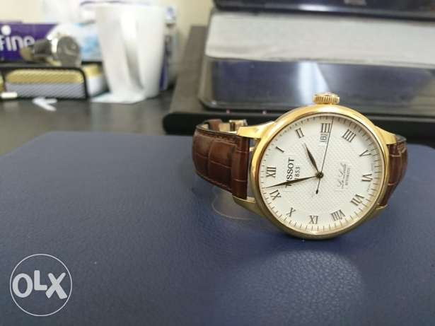 Tissot Le Locle Gold on Brown Automatic Watch