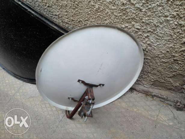 Used 210cm dish with C band lnb price reduced