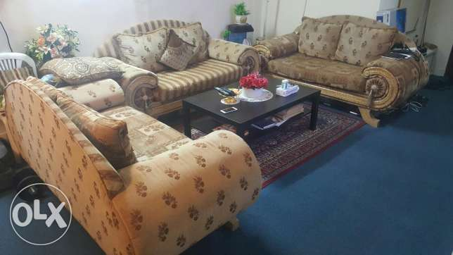 Large SOFA Set, 2 Seater E.A 3 PCS
