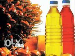 Sunflower Oil Palm Oil Olive oil Rapeseed oil Peanut Oil Cottonseed
