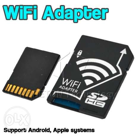 Wireless Micro sd Card Reader WiFi SD Adapter