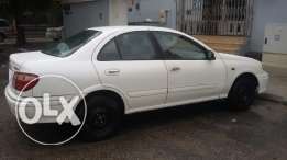 Nissan Sunny_2001 model_manual type