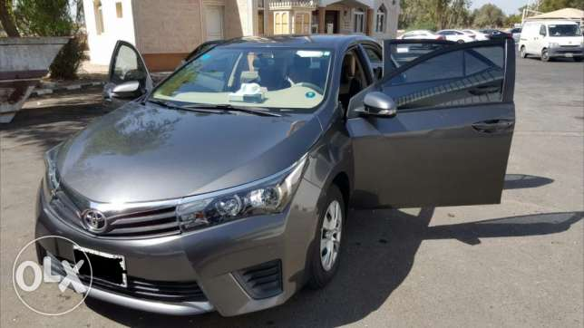 Toyota corolla 2015 model. In very good condition.well maintained. الجبيل -  2
