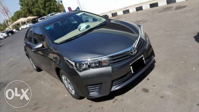 Toyota corolla 2015 model. In very good condition.well maintained. الجبيل -  1