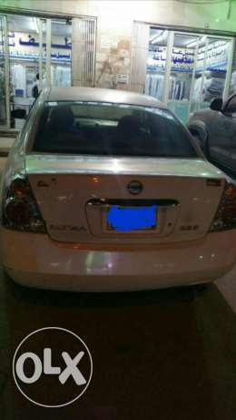 Nissan Altima is good condition.