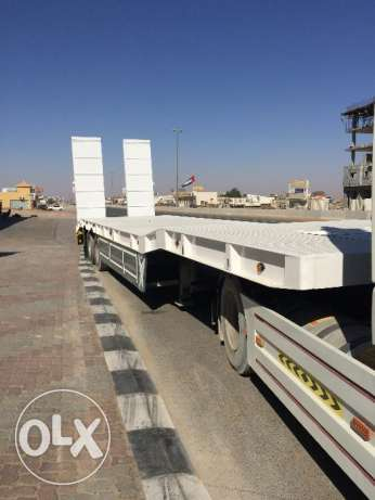 new low bed trailers in saudi style for sale