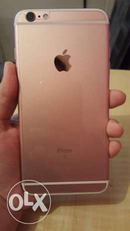 IPhone 6S Plus Rose Gold 64GB with Accessories