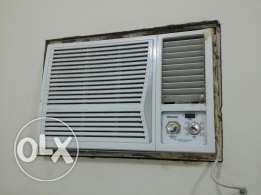 Hisense .. window unit .. 500 sar