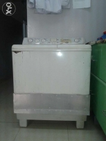 Toshiba washing machine in very good work wash and dry all is verygood