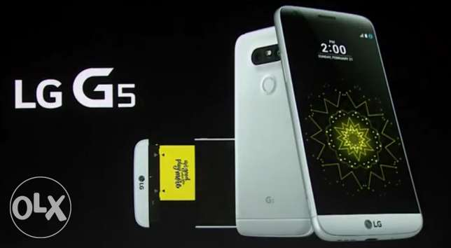 Lg G5 32 gb with extra battery