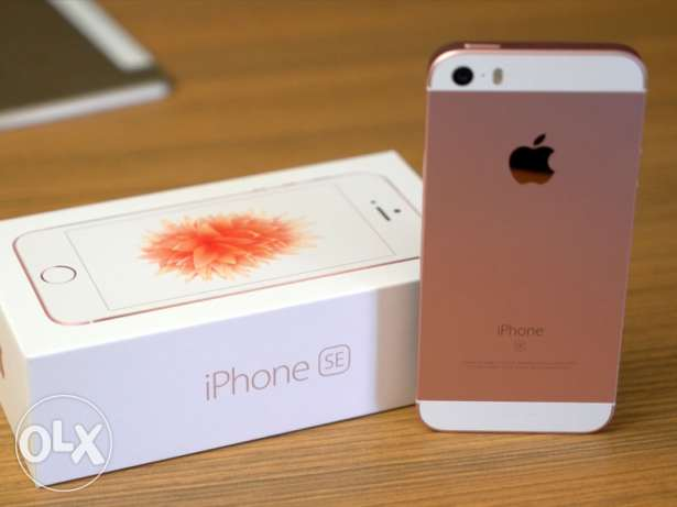 Iphone Se brand new 16 gb rose gold iOS 10.1.1 serious buyer only الظهران -  2