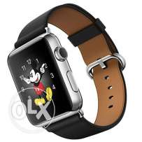 Apple MLFA2 42mm Stainless Steel Case with Black Classic Buckle