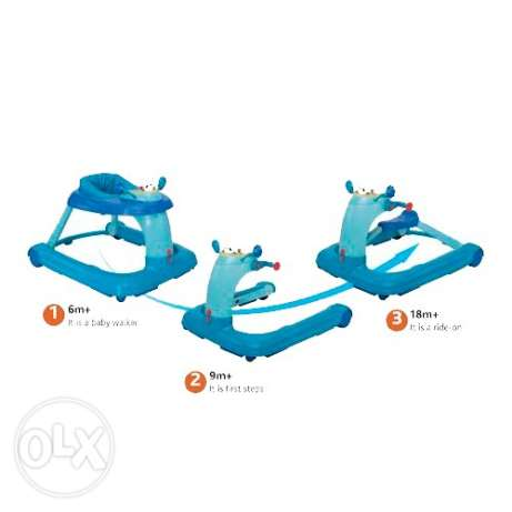 chicco 3 in 1 walker up to scouter, up to 18 months