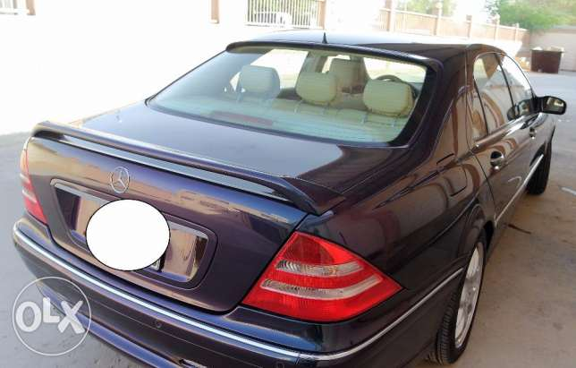 Low mileage Mercedes S-500 for sale الرياض -  3