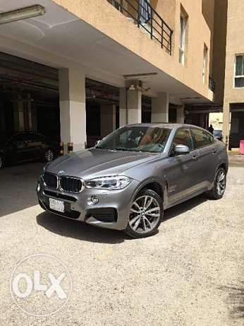 2016 BMW X6 35i with M Sport Package