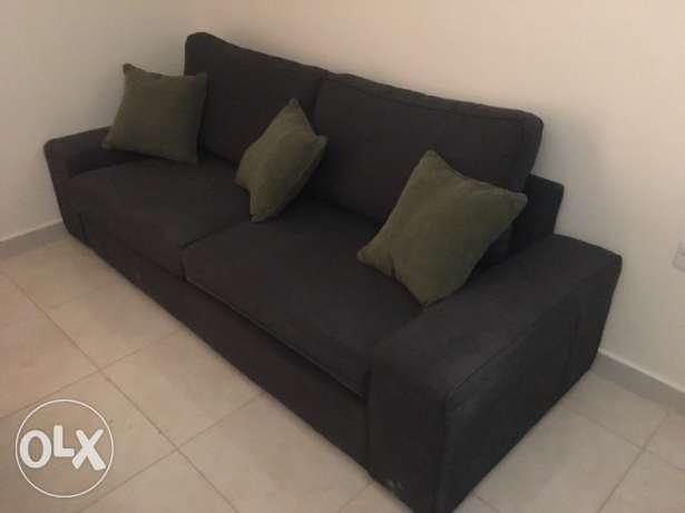 sofa 3 seaters very good condition.