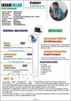Looking for Graphic designing job in ksa