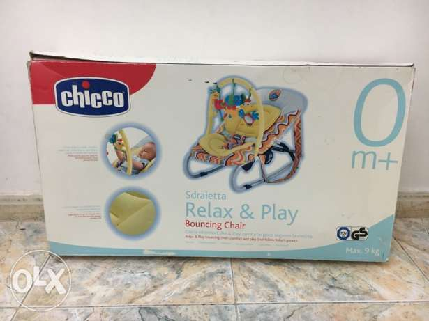 Relax & Play Bouncing Chair (CHICCO) كرسي أطفال ماركة شيكو شبه جديد