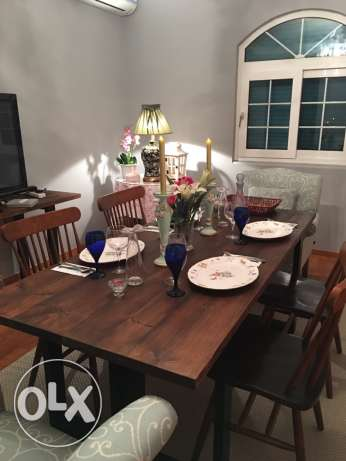 dining table and rug جدة -  6