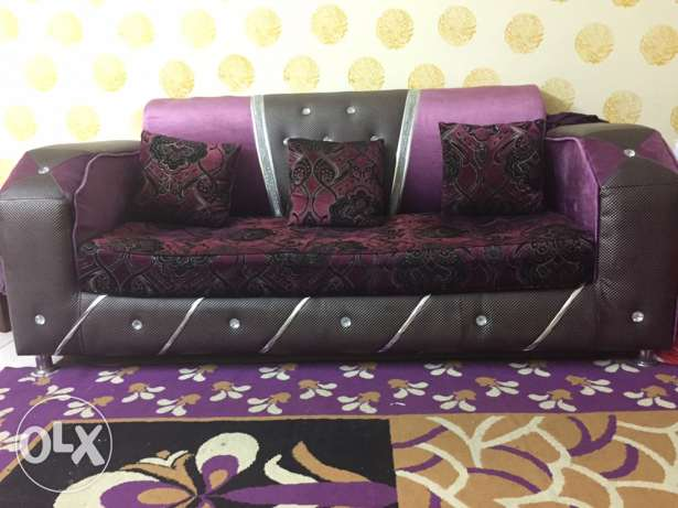 7 seater Sofa Set with Curtains