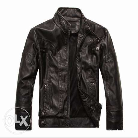 New Fashion Hot Men's Motorcycle Leather Jackets