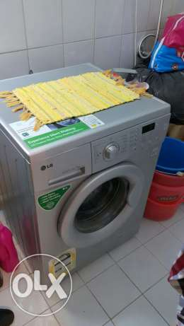 LG washing machine 7 kgs. Full automatic and in perfect condition