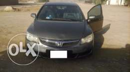 Honda Civic 2008 model, Well maintained car, Smooth drive, Brown Color